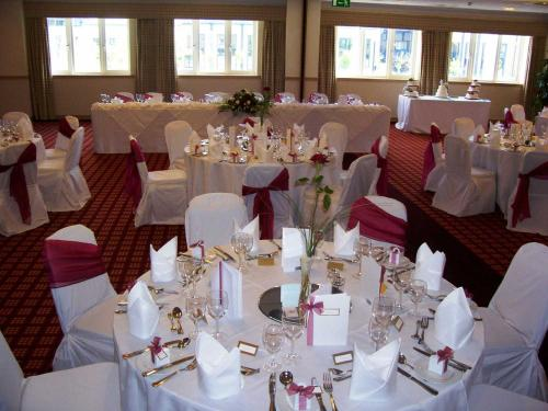 Village Hotel Bournemouth Details Pink Wedding Days